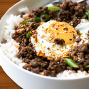 Beef Rice Bowls
