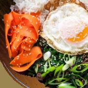 Kale Beef Rice Bowls