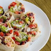 Greek Tortilla Roll Ups
