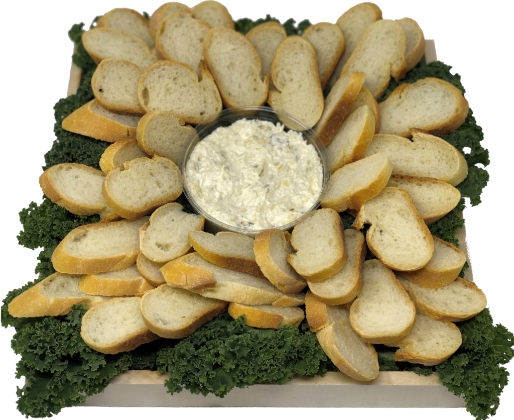 Spinach Dip Tray