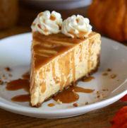 Pumpkin Orange Ginger Cheesecake