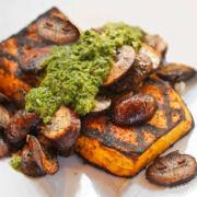 Vegetarian Butternut Squash Steak