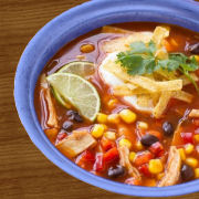 Mexican Chicken and Bean Soup