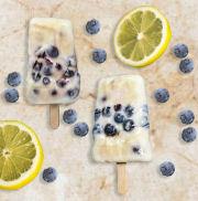 Lemon Blueberry Pops